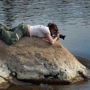 Gražios fotografės mažas pav.